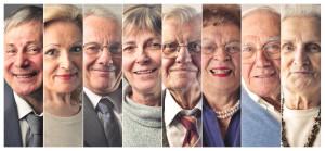 50740512 - elderly people's portraits