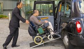 Disabled taxi 1