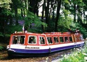 Pennine canal boat