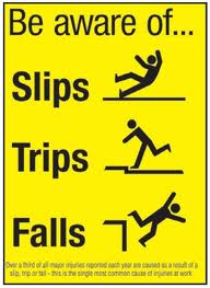 Slips trips and falls 3