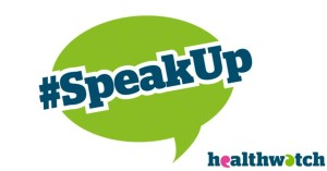 Speakup_twitter Healthwatch