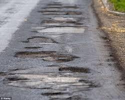 Street potholes