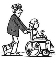 Wheelchair drawing