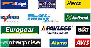 Car hire logos