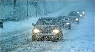Driving in snow 2