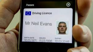 Driving licence digital