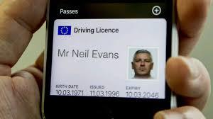 Driving licence digital
