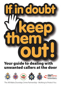 Doorstep callers warning