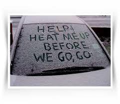 Frosty windscreen 1