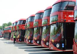 row-of-buses