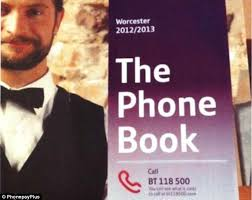 Directory enquiries - phone book