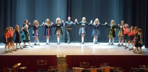 Harrogate Irish dancers