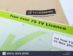 TV licence over 75