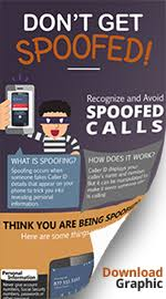 Number spoofing - Spoof calls